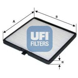 Filtr, wentylacja przestrzeni pasażerskiej UFI 53.116.00