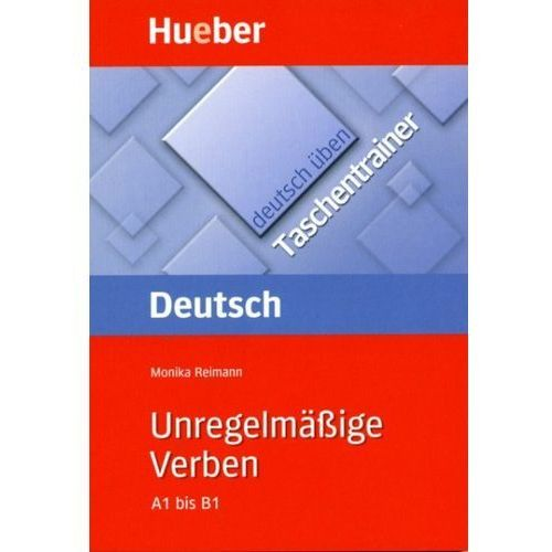 Książki do nauki języka, Deutsch uben Taschentrainer Unregelmäßige verben (opr. miękka)