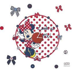 Zegar Naklejka: Minnie Mouse 70-185