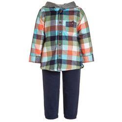 Carter's BOYS FLANNEL HOODIE JOGGER BABY SET Spodnie materiałowe dark blue