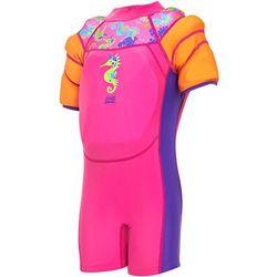 Zoggs Sea Unicorn Kombinezon z pływaczkami Dziewczynki, pink 92-98 | 2-3Y 2019 Stroje kąpielowe Przy złożeniu zamówienia do godziny 16 ( od Pon. do Pt., wszystkie metody płatności z wyjątkiem przelewu bankowego), wysyłka odbędzie się tego samego dnia.