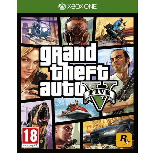 Gry na Xbox One, Grand Theft Auto V (XONE)