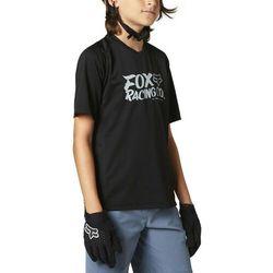 Fox Defend SS Jersey Youth, czarny M   126-136 2021 Koszulki dziecięce trykotowe Przy złożeniu zamówienia do godziny 16 ( od Pon. do Pt., wszystkie metody płatności z wyjątkiem przelewu bankowego), wysyłka odbędzie się tego samego dnia.