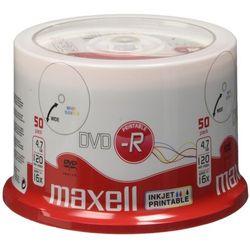 Maxell DVD-R 4,7 GB, 50 szt (275701.40) Darmowy odbiór w 21 miastach!