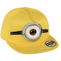 Czapka z daszkiem Minionki Żółta oko