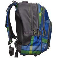 Tornistry i plecaki szkolne, Plecak szkolny BLABY kolor: woody blue