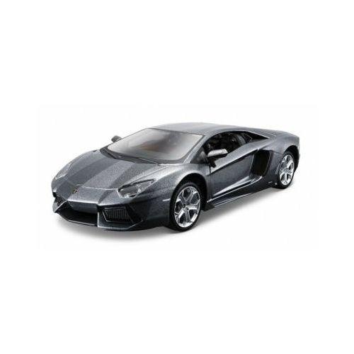 Figurki i postacie, Model metalowy Lamborghini Aventador 1:24 do składania