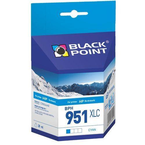 Tusze do drukarek, Black Point HP No 951XLC (CN046AE) cyan - 28 ml