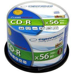 Płyty Esperanza CD-R 700MB 52x -Cake - 50szt.