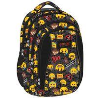 Tornistry i plecaki szkolne, ST.RIGHT Plecak szkolny 4 komory Emoji Yellow 2019