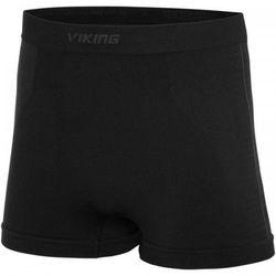 Bokserki Termoaktywna Męska Viking Eiger Boxer Shorts 46 Czarno/Różowy