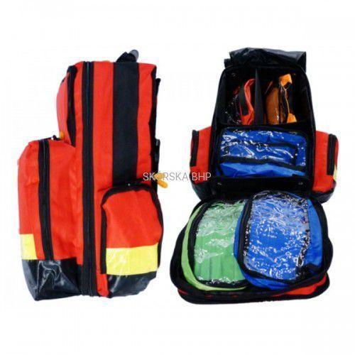 Walizki medyczne, Plecak ratowniczy z poliestru