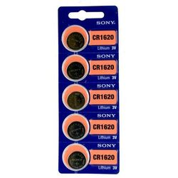 5 x bateria litowa mini Sony CR1620