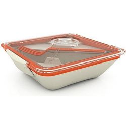Pudełko na lunch Box Appetit pomarańczowo-białe
