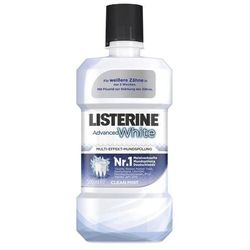 LISTERINE Advanced White płyn do płukania jamy ustnej 500ml