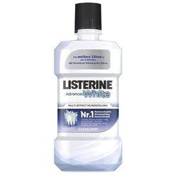 Listerine Mouthwash Advanced White Mild Taste płyn do płukania ust 500 ml unisex