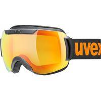 Okularki pływackie, UVEX Downhill 2000 CV Gogle, black mat/colorvision orange storm 2019 Gogle narciarskie