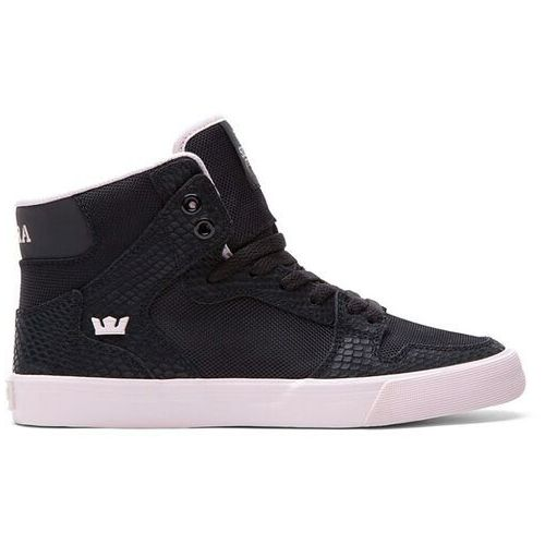 Damskie obuwie sportowe, buty SUPRA - Vaider Hig Black/Pink-White (BPN) rozmiar: 36.5