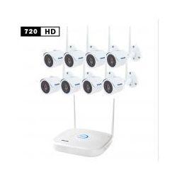 WiFi kamerowy system 8x 1.3Mpix kamera + NVR