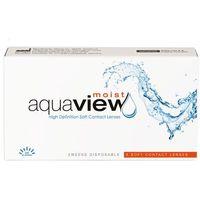 Soczewki kontaktowe, AquaView Moist 2 weeks 6 szt.