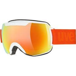 UVEX Downhill 2000 CV Gogle, white mat/colorvision orange fire 2019 Gogle narciarskie