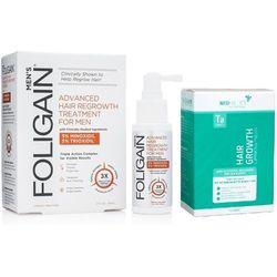 Foligain Minoxidil Trioxidil 59 ml+ Suplement przeciw wypadaniu włosów