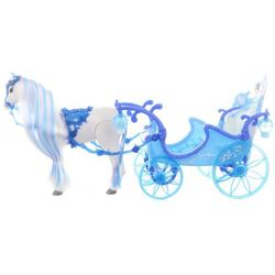 Lamps Koń z niebieską karocą