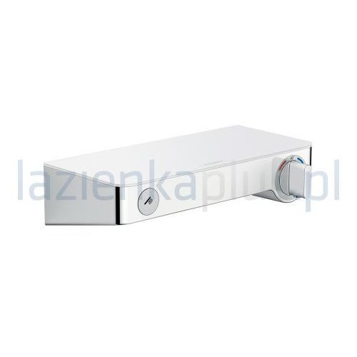 Baterie do pryszniców, Bateria Hansgrohe Showertablet select hansgrohe hg thermostatic show er mixer wall m. showertablet select 300 white/chrome biały/chrom - 13171400 13171400