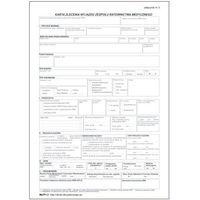 Pozostałe artykuły medyczne, Karta zlecenia wyjazdu zespołu ratownictwa medycznego / zał nr 3 [Mz/Pr-3]