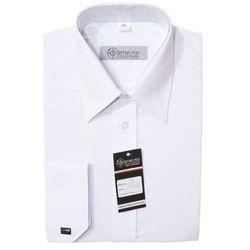 Koszula biała - długi rękaw - damska