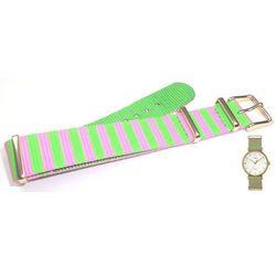 Pasek do zegarka Timex TW2P91800 PW2P91800 18 mm Nylon