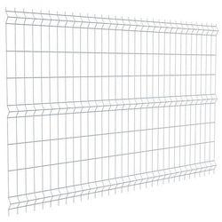Panel ogrodzeniowy Sparta 75 ocynkowany 153 x 243 cm fi 3 2 mm