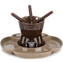 Ceramiczny zestaw do fondue czekoladowego Fiore Kela 0,25 Litra (KE-12423)