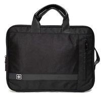 """Pokrowce, torby, plecaki do notebooków, SwissBags GLION torba / etui na laptopa 15,6"""" / czarna"""