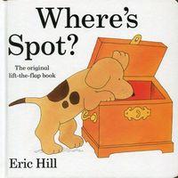 Książki do nauki języka, Where`s Spot (opr. twarda)