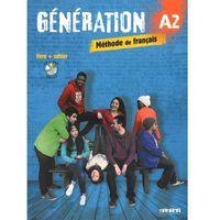 Książki do nauki języka, Generation A2 Poodręcznik + CD mp3 + DVD (opr. miękka)
