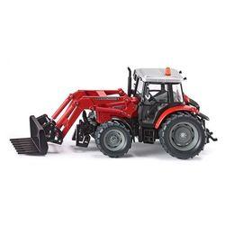 SIKU SUPER 3653 Traktor MF z przednią ładowarką metalowy 1:32