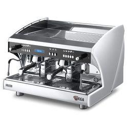 Ekspres do kawy 2-grupowy z podwyższonymi grupami, elektroniczny, 12 l | WEGA, Polaris