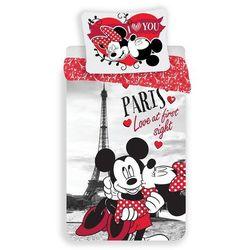 B.E.S. Petrovice pościel Myszka Miki i Myszka Minnie w Paryżu 140x200 70x90