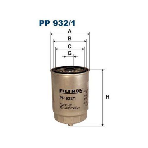 Filtry paliwa, PP932/1 FILTR PALIWA FILTRON
