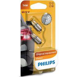 Żarówka samochodowa T4W Philips Standard, BA9s, 4 W, 12 V, 2 szt.
