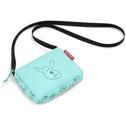 Mała torebka dla dziewczynek itbag kids cats and dogs reisenthel miętowa (rja4062)