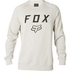 FOX bluza męska Legacy Crew XXL kremowy - BEZPŁATNY ODBIÓR: WROCŁAW!