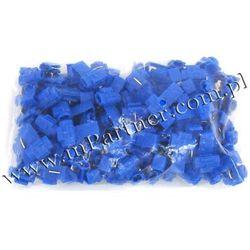Szybkozłącze szybkozłączka samochodowa niebieska 1,5-2,5 mm