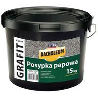 Pozostałe artykuły dachowe, Posypka papowa Matizol wiaderko 15 kg grafit