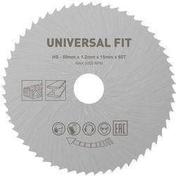 Tarcza do miniszlifierki Universal fit fi 85 x 15 mm 60T