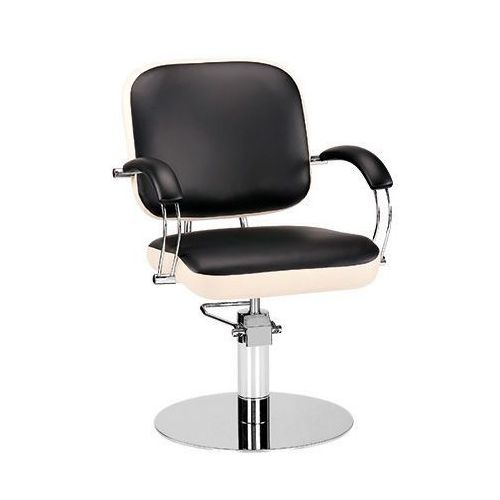 Meble fryzjerskie, Ayala Godot 01 fotel fryzjerski na pompie hydraulicznej z możliwością wyboru podstawy
