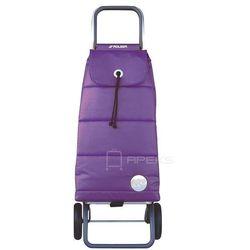 Rolser Logic wózek na zakupy / składany / PAC023 Polar More / fioletowy - fioletowy