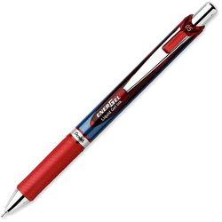 Cienkopis kulkowy Pentel Energel BLN75 czerwony
