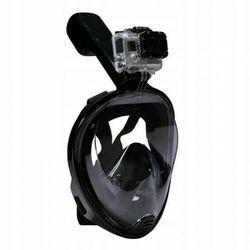 Maska do Nurkowania Pełnotwarzowa L\XL - Czarna
